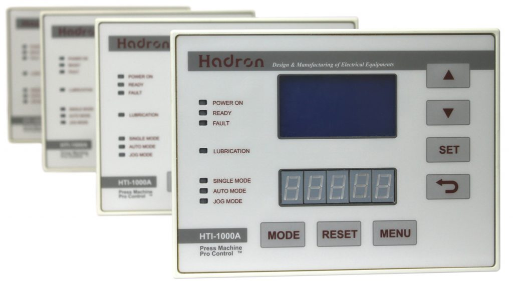 کنترلر هوشمند پرس ضربه ای هادرون مدل hti-1000A